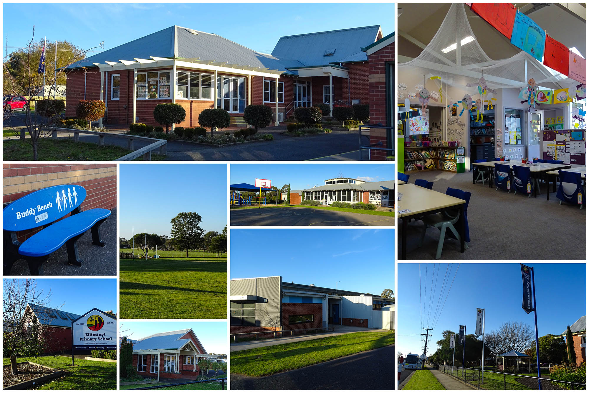 Ellimiyt Primary School Grounds Collage
